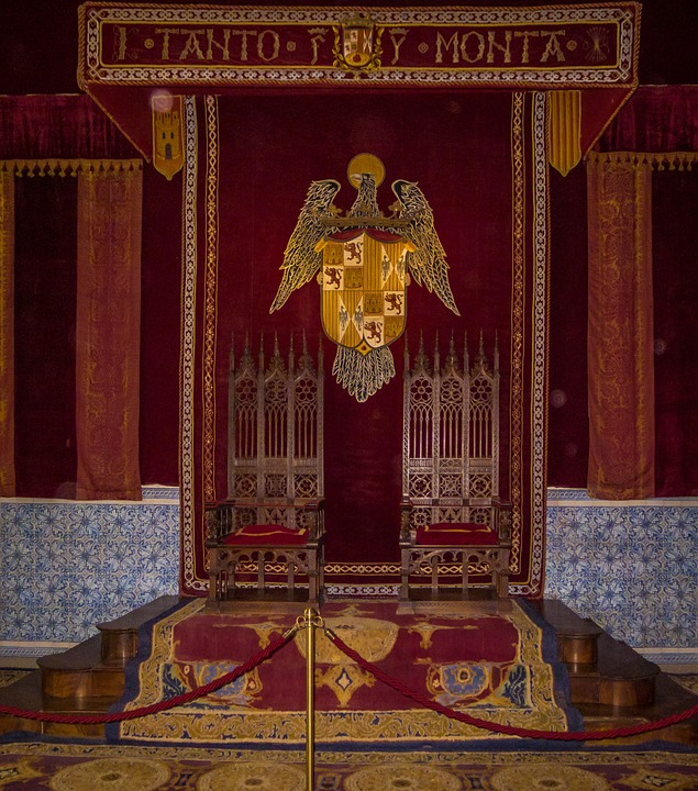 Throne, King, Kings, Spain, Palace, Room, Museum