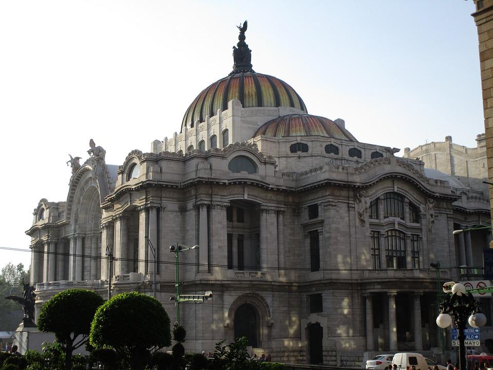 Mexico City, Fine Arts, Palace, Architecture