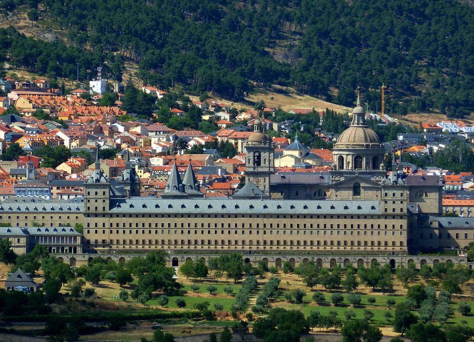 Panorama, Escorial, Spain, Monastery, Palace, Royal