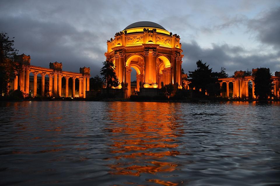 Pavilion, San Francisco, Palace Museum, Architecture