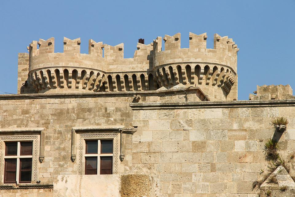 Palace Of The Grand Master, Rhodes, Knights Of St John