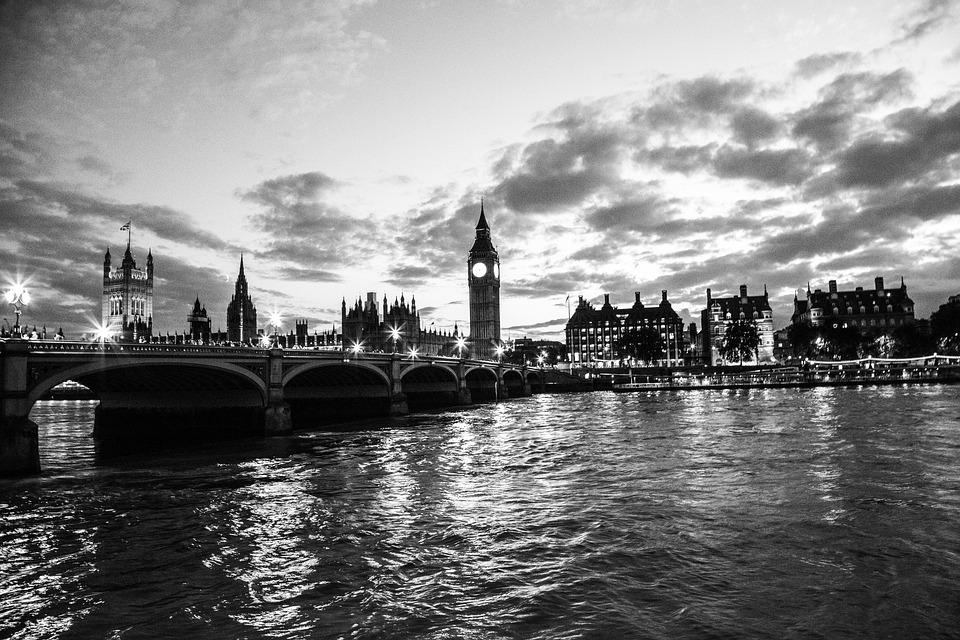 Palace Of Westminster, Big Ben, London, England