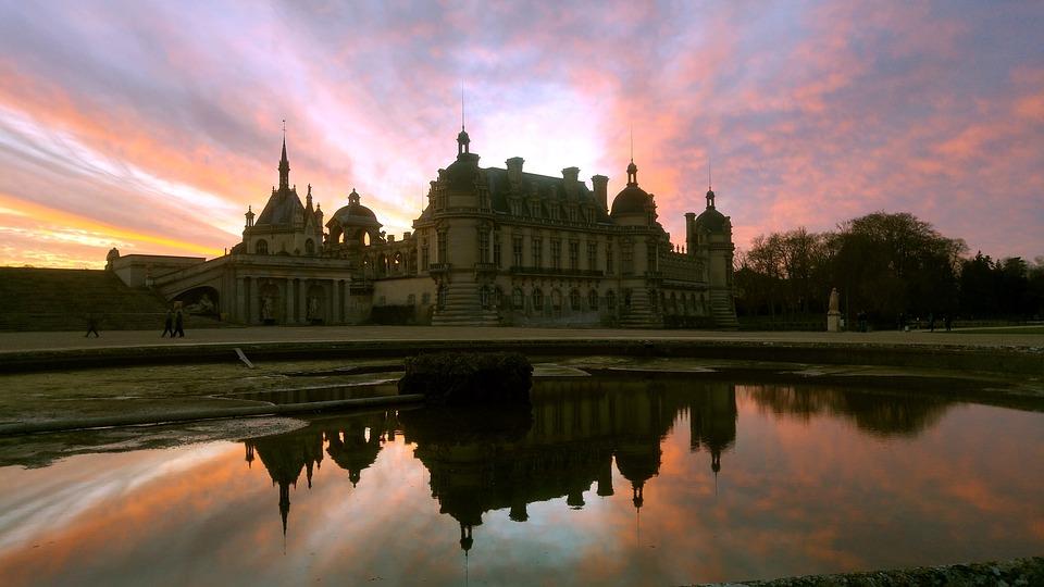 Chantilly, France, Renaissance, Old, Palace, Museum