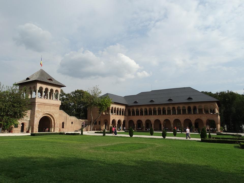 Palace, Mogosoaia, Park