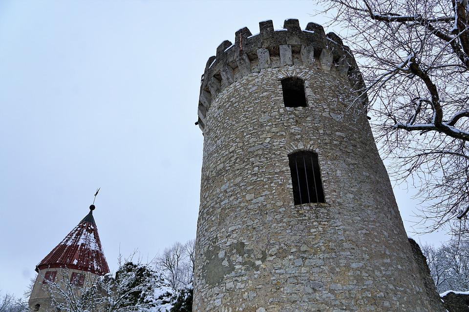 Gothic, Architecture, Tower, Old, Stone, Palace, Travel