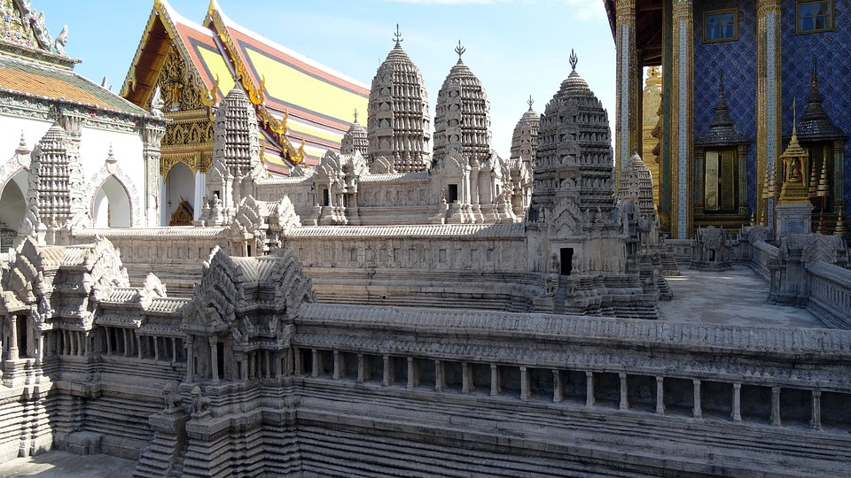 Palace, Temple Complex, Towers, Places Of Worship