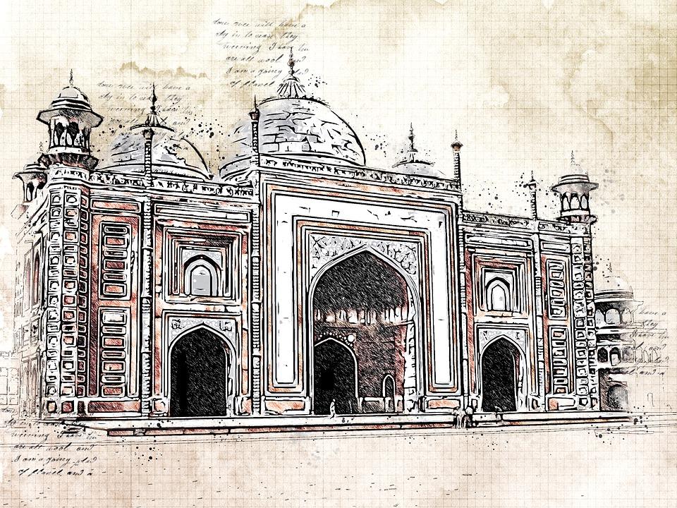 Palace, Monument, Building, Tomb, Marble Mausoleum