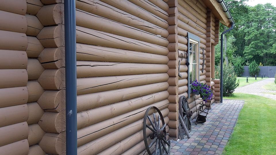 Cottage, Lithuania, Palanga, Wooden House