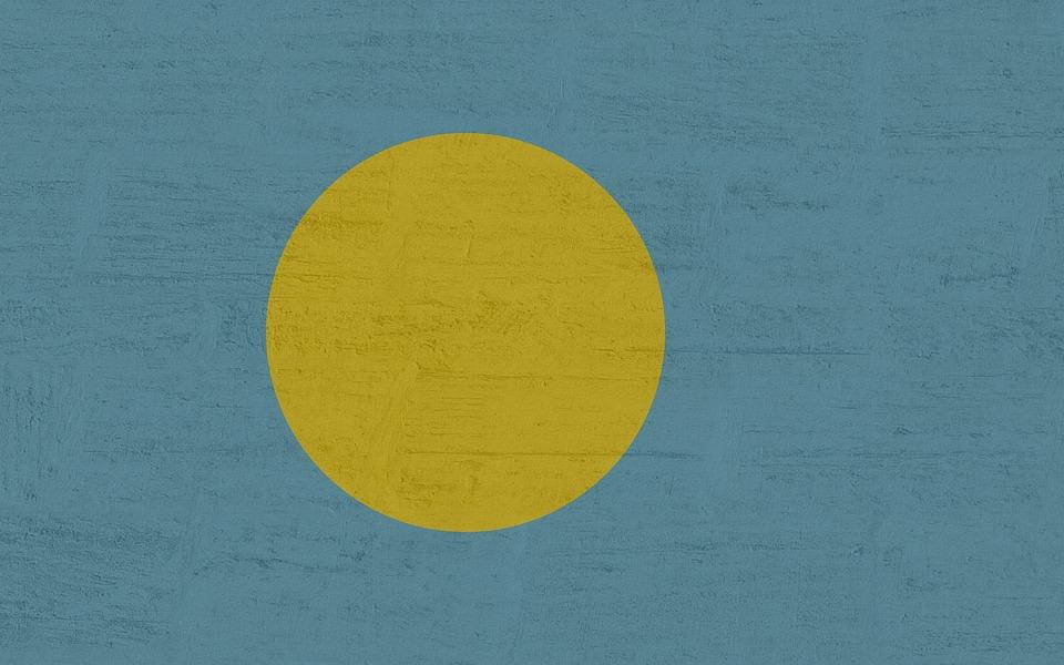 Palau, Flag, International