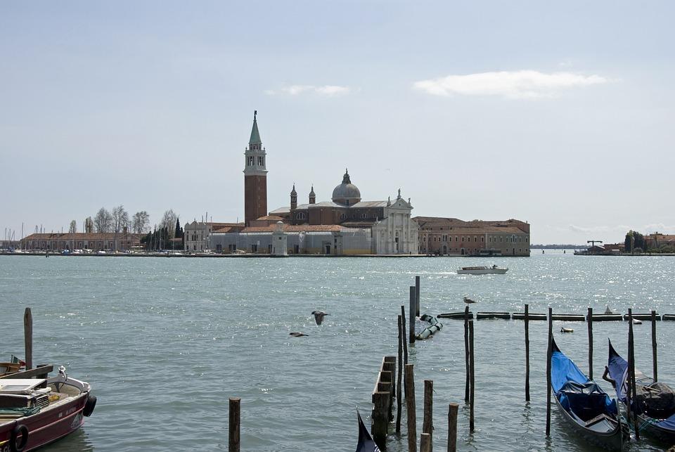 Venice, Canal, Palazzo Ducale, Laguna, Veneto, Italy