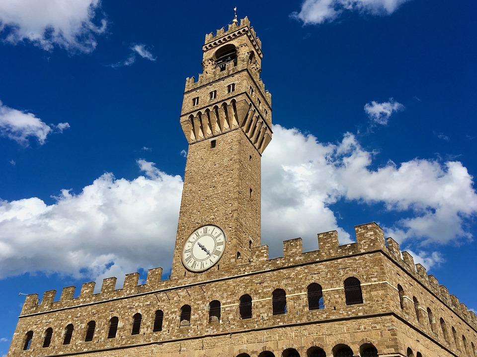 Florence, Palazzo Vecchio, Italy Vacation