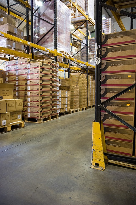 Box, Boxes, Warehouse, Pallets, Pallet, Stock, Racking