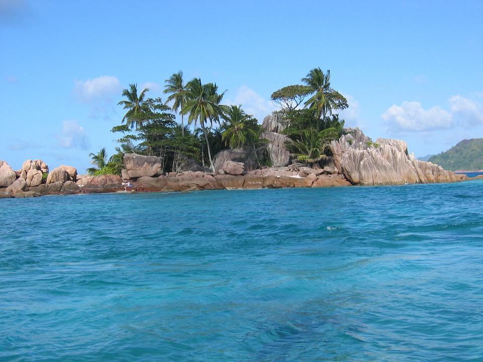 Pirate, Island, Seychelles, Palm Trees, Sea, Holiday