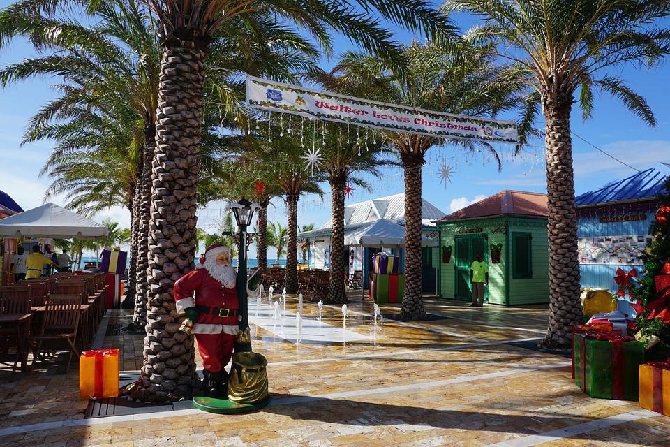 Philipsburg, St Maarten, Caribbean, Road, Palm Trees