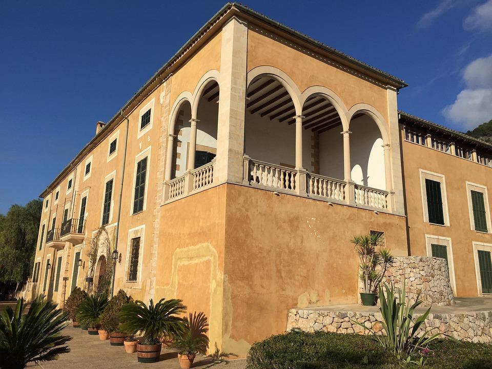 Architecture, Travel, Building, Mallorca, Palma, Facade