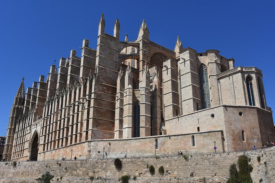 Cathedral, Palma De Mallorca, Building, Architecture