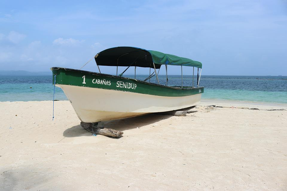 Travel, San Blas, Panama, Panama City, Beach