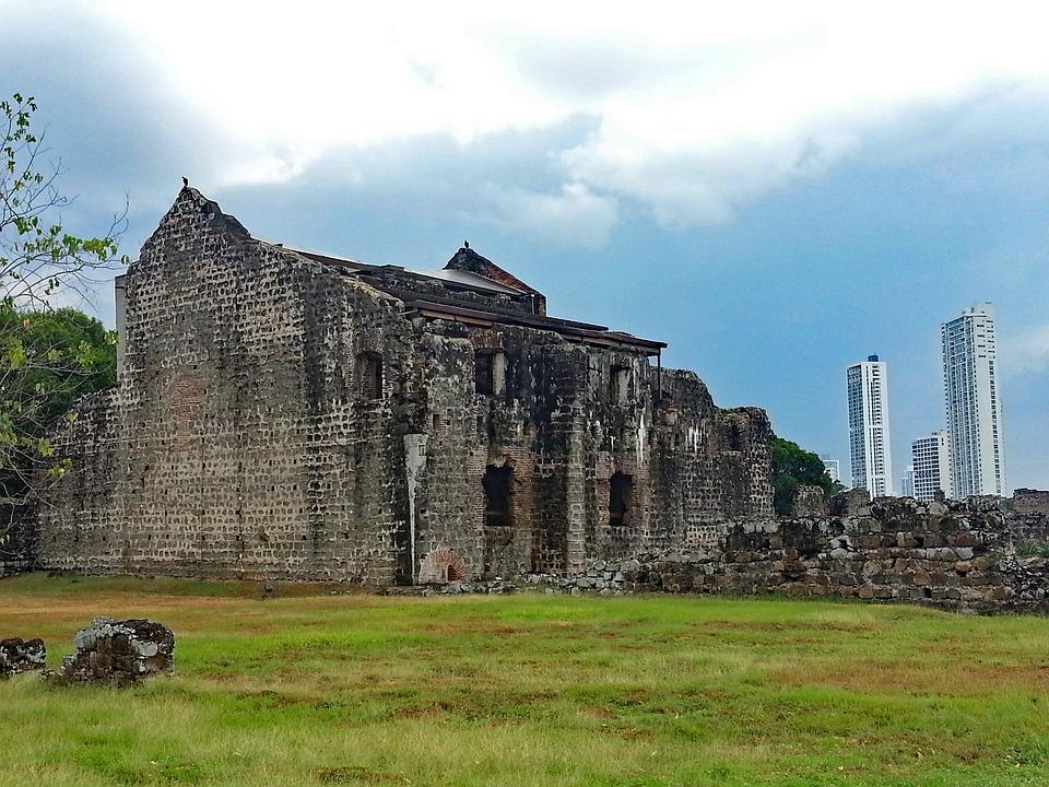 Panama City, Panama, Panama Viejo, Ruin, Old Town