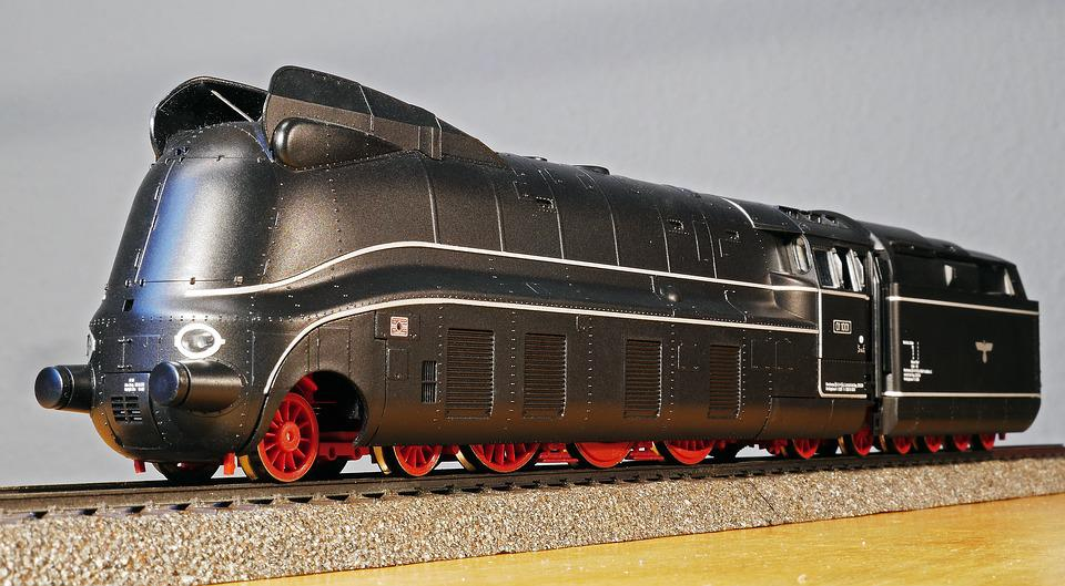 Steam Locomotive, Model, Current Line, Panel, Br 01-10