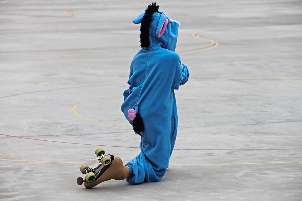 Skating, Roll Art Runner, Costume, Panel, Performance