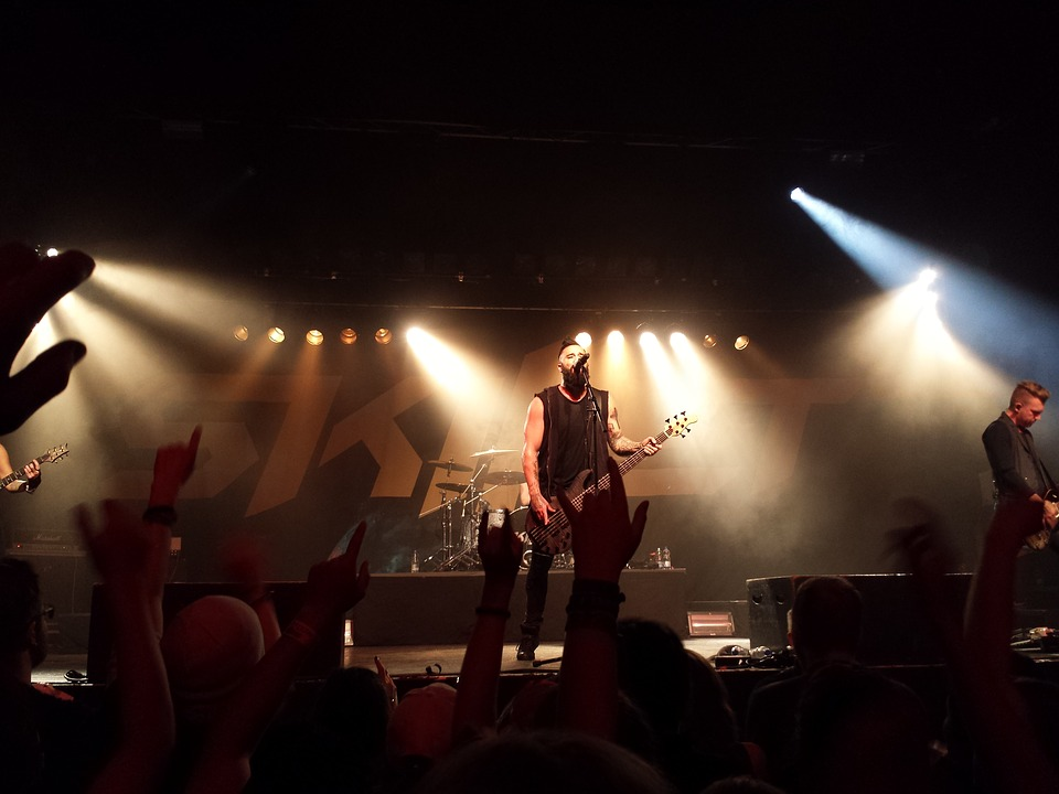 Skillet, Panhead, Concert, Club, Stage, Sound