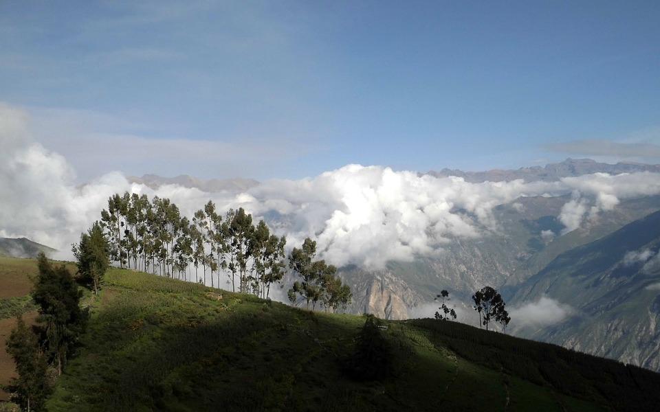 Mountain, Nature, Panorama, Landscape, Canyon De Colca