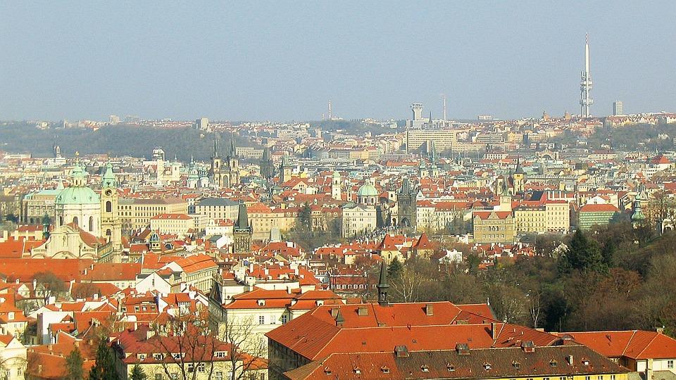 Prague, Capital, Panorama, Czech Republic, View, Praha