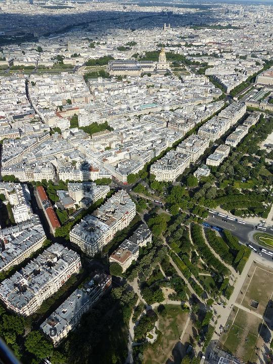 Eiffel Tower, Panorama, Paris, City
