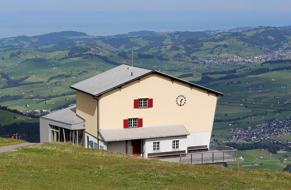 Mountain Station, Panorama, Ebenalp, Appenzell