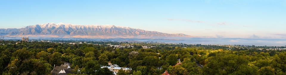 Panoramic, Nature, Panorama, Travel, Logan, Utah