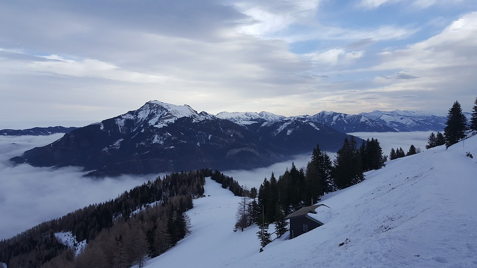 Snow, Mountain, Panorama Of, Winter, Some People Don't