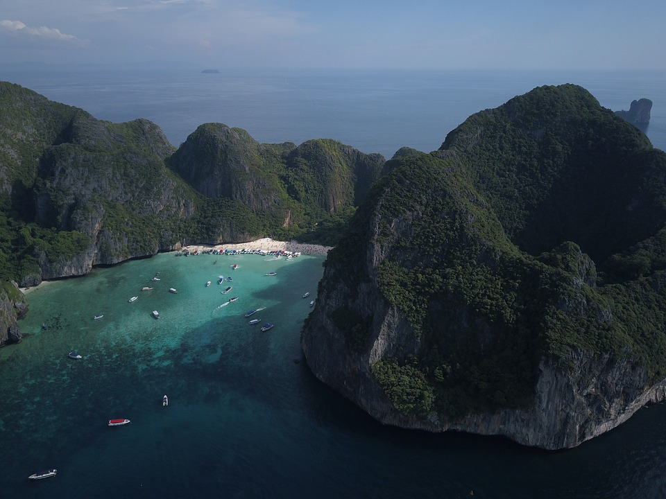 Panorama, Waters, Landscape, Nature, Travel, Sea
