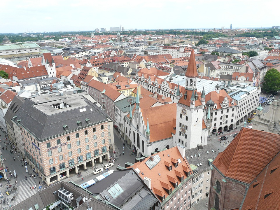 Munich, City, Outlook, Vision, Panorama, Town Center