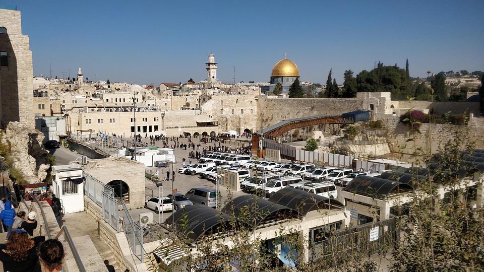 Architecture, Travel, City, Panorama, Israel