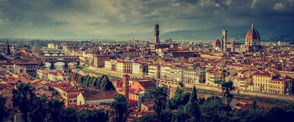Florence, Tuscany, Italy, Panorama, Firenze