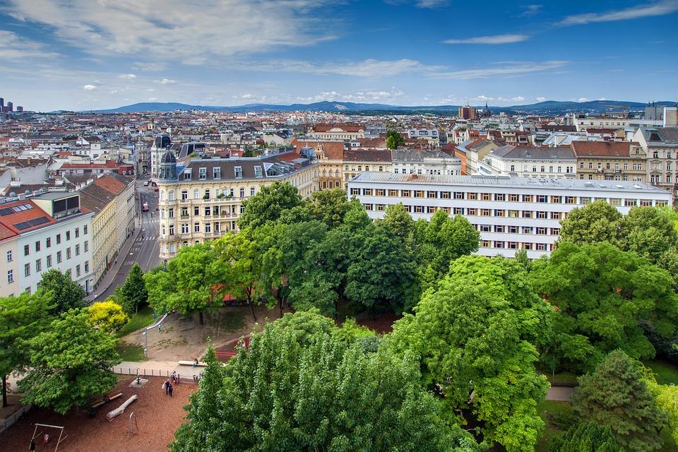 Vienna, Downtown, Panorama, Capital, Outlook