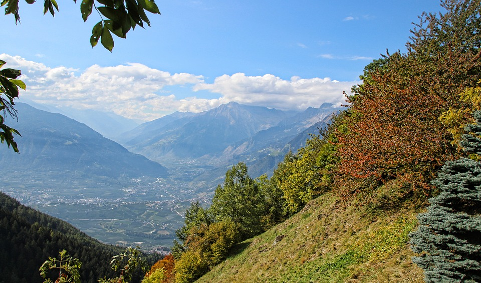 View, Mountains, Autumn, Panorama, Landscape, Nature