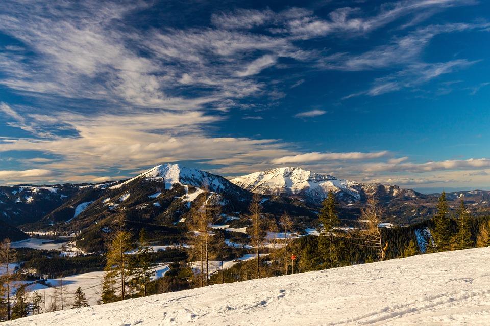 Snow, Mountain, Panorama-like, Nature, Winter, Panorama