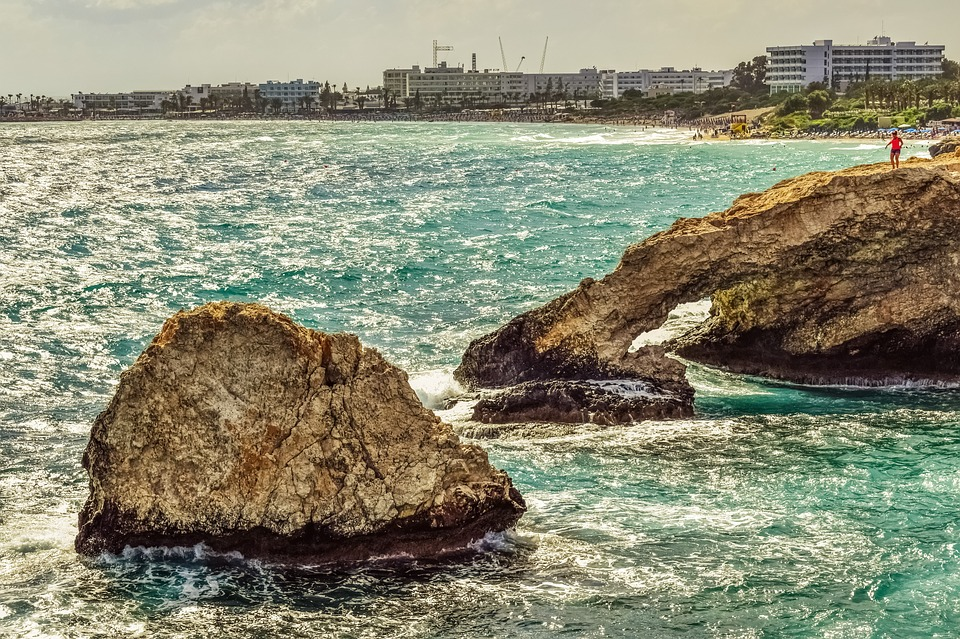 Cyprus, Ayia Napa, View, Panoramic, Landscape