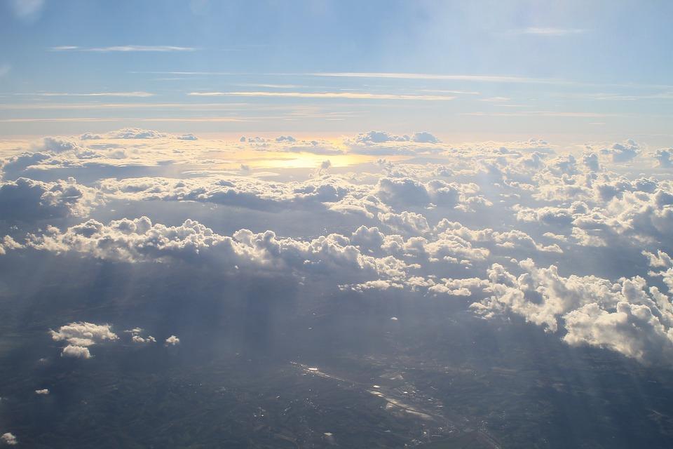 Sky, Nature, Outdoors, Panoramic, Landscape, Air, Cloud