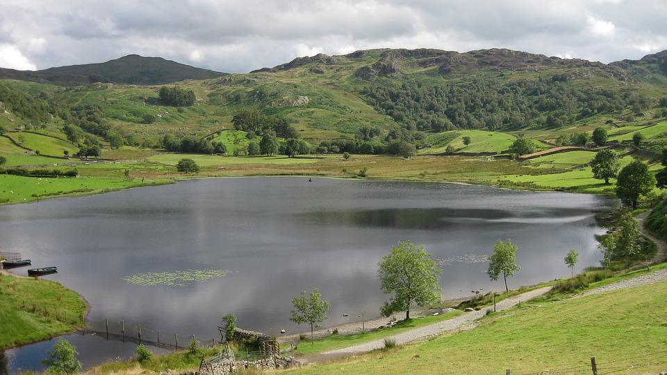 Nature, Water, Panoramic, Landscape, Outdoors, Lake