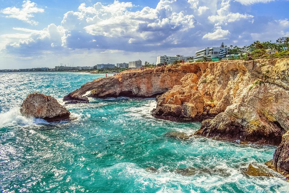 Cyprus, Ayia Napa, View, Panoramic, Landscape
