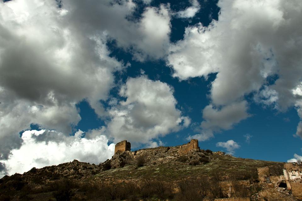 Panoramic, Mountain, Sky, Nature, Landscape, Stone