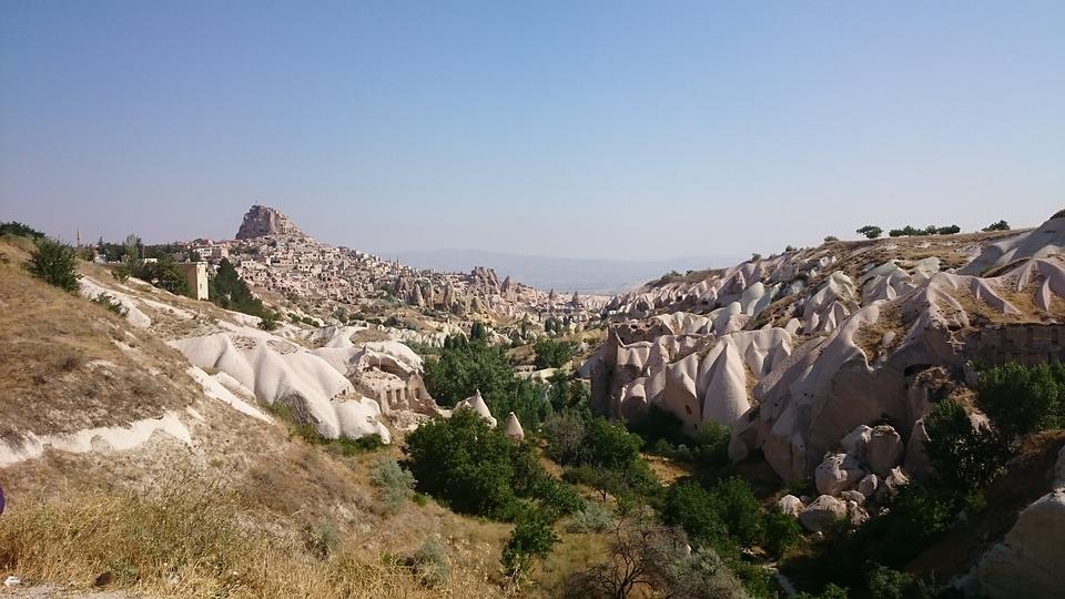 Travel, Panoramic View Of Cappadocia