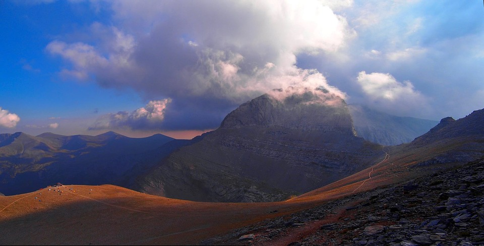 Mountain, Panoramic, Landscape, Volcano, Nature