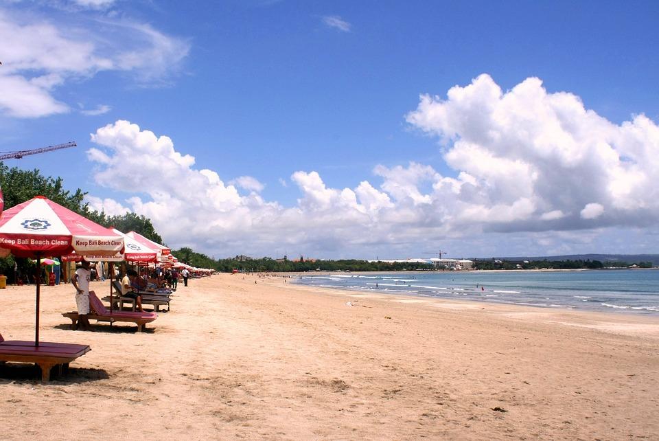 Kuta Beach Bali White Sand