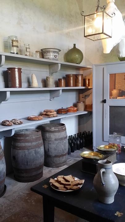 Pantry, Kitchen, Chateau