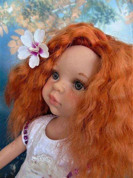 Doll, Paola, Reina, Portraits, Redhead, Toy