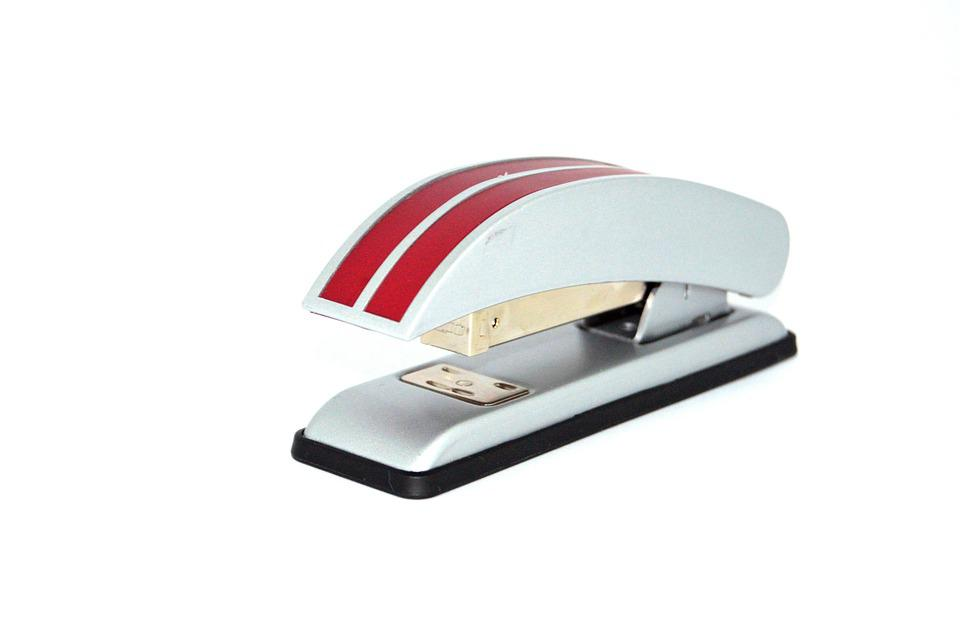 Stapler, Office, Paper, Work, Accessories, Staple