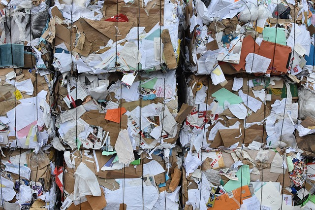 Paper, Recycling, Recycle, Paper Bale